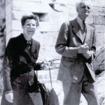 Ivan Wyschnegradsky and his wife, Lucile Markov-Gayden, in Greece, 1965 - Private collection