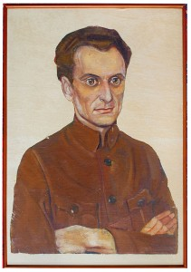 Portrait of Ivan Wyschnegradsky by Hélène Benois, 1923