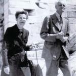 Ivan Wyschnegradsky et son épouse Lucile Markov-Gayden en Grèce - 1965 - Collection privée