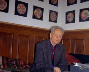 Ivan Wyschnegradsky dans son appartement de la rue Mademoiselle (Paris), 1973 - Collection privée