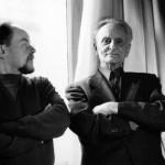 Claude Ballif, Ivan Wyschnegradsky - 1976 - Photo Charles Amirkhanian